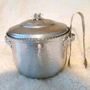 Vintage Forman Hammered Aluminum Ice Bucket
